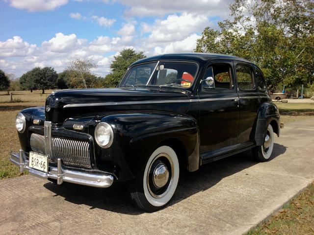 Whiz motor co for 1942 ford 4 door